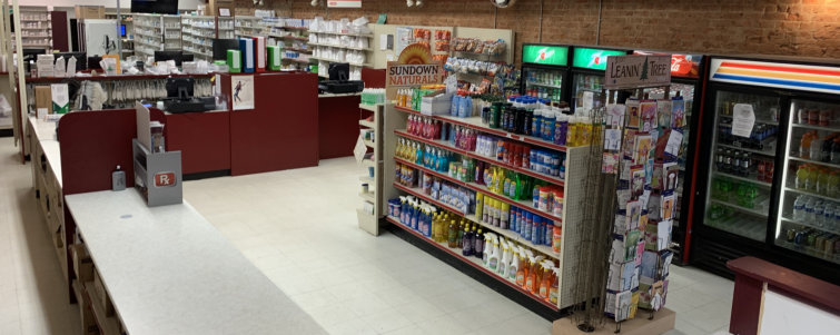 inside of the pharmacy